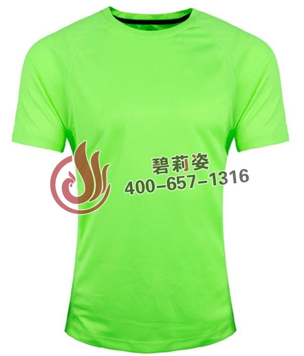 荧光绿文化衫定做价格