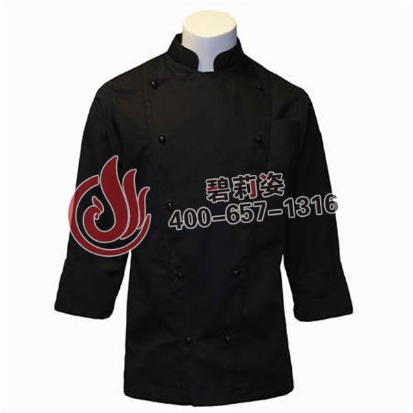 厨师服长袖。
